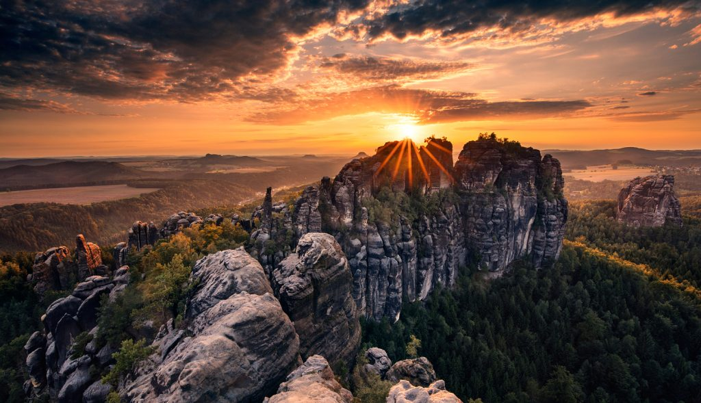 Bohemian and saxon Switzerland National Park
