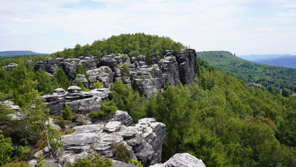 Tisa-rocks-labyrinth Hiking-Czech-Republic