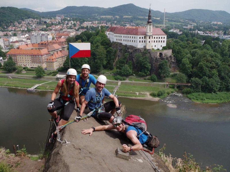 Climbing in Czech Republic