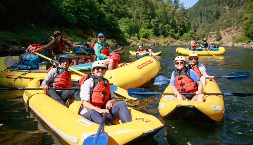 Rafting and Canoeing Tour in Bohemian Switzerland