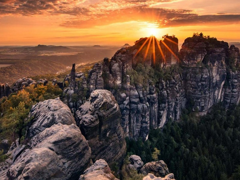 Bohemian and Saxon Switzerland one day tours from Prague